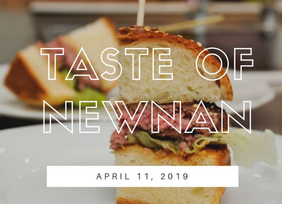 Spring 2019 Taste of Newnan set for April 11