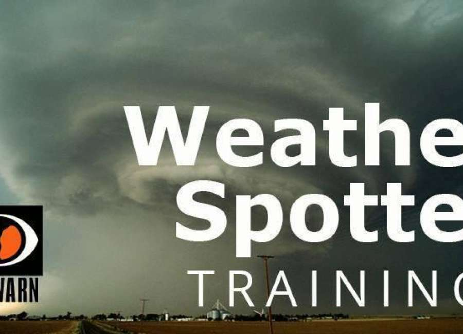 Storm Spotter training class next week