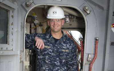Suddath is chaplain on missile cruiser in Pearl Harbor