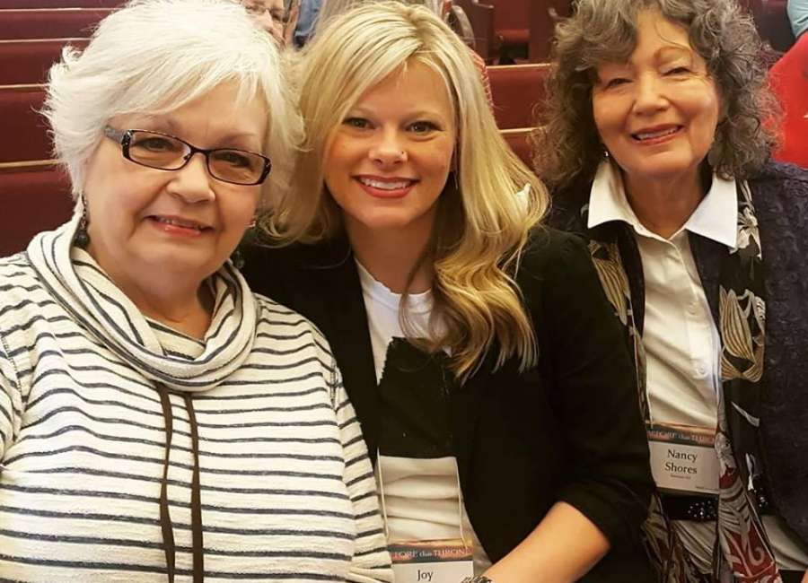 Three attend prayer conference