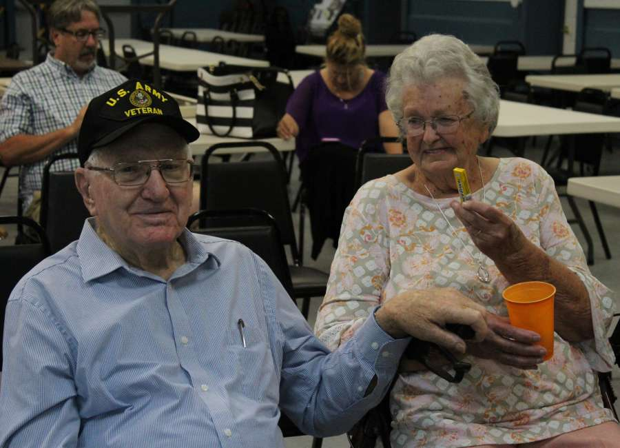 World War II veteran recognized at Coweta Veterans Club