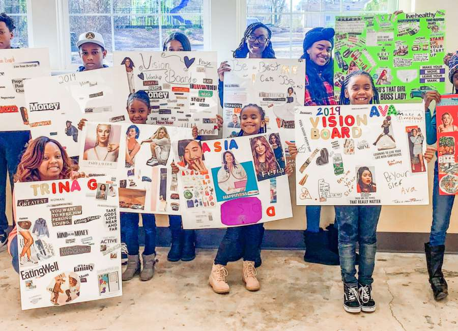 Youth observe MLK Day by setting goals for future